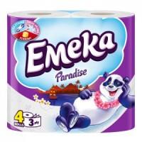 EMEKA TOILET PAPER PARADISE - 4 pcs